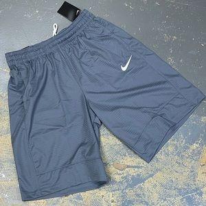 Nike Hoops Basketball Shorts 831404-065 Grey Med